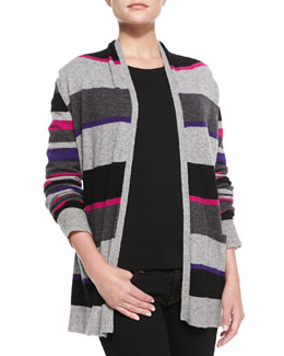 in CASHMERE Cashmere 2-Piece Cardigan & Long Sleeve Tee