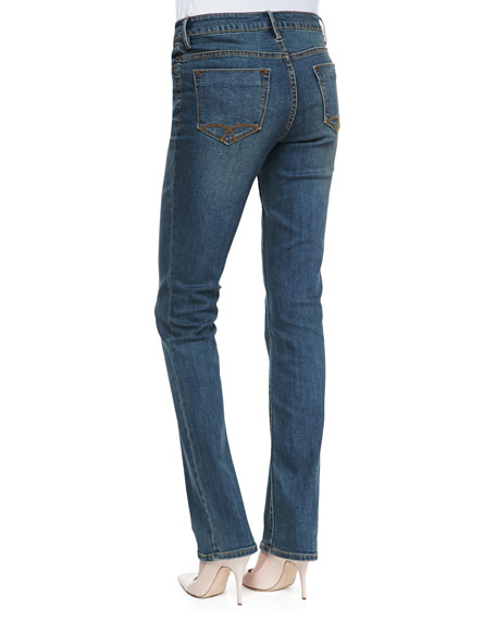 Natalie Boot-Cut Jeans, Medium Indigo
