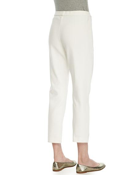 Ponte Slim Ankle Pants, Women's
