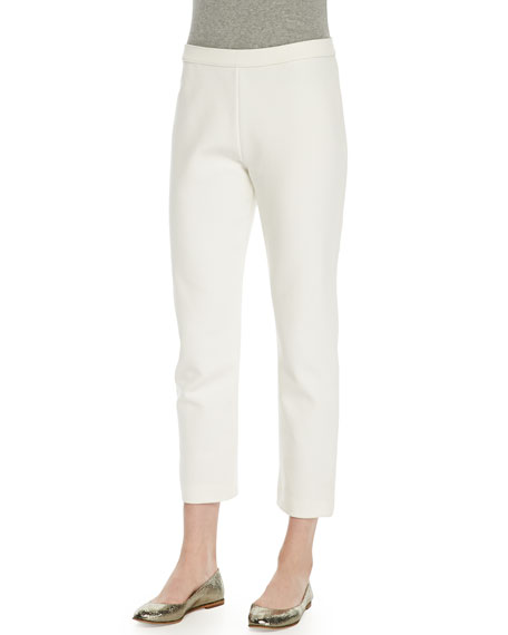 Ponte Slim Ankle Pants, Women's