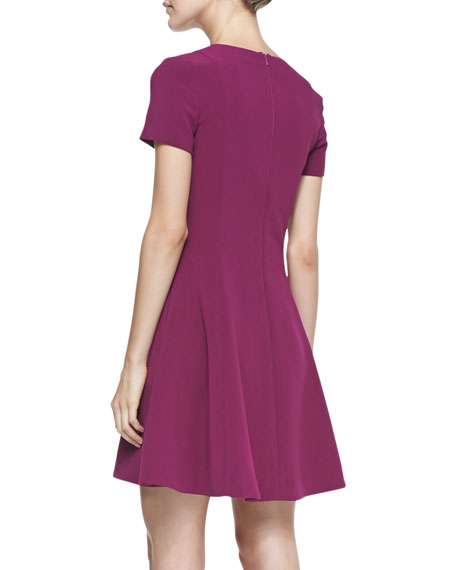 Milo Fit-and-Flare Mini Dress