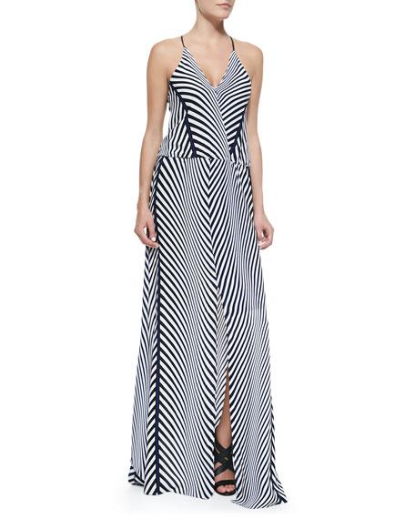 Draco Jersey Print Maxi Dress