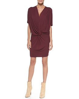 Young Fabulous and Broke Jennings Twist-Front Jersey Dress