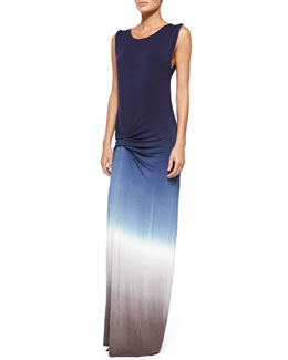 Young Fabulous and Broke Bryton Ombre Slub Maxi Dress