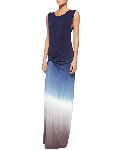 Bryton Ombre Slub Maxi Dress