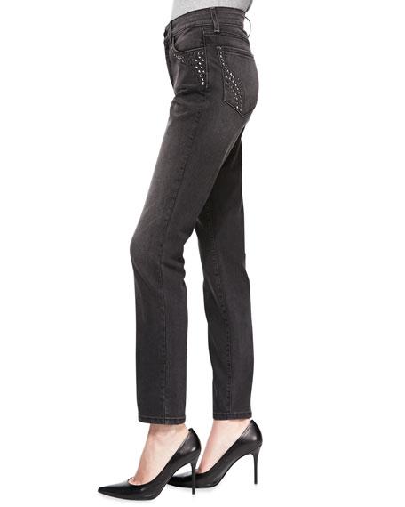 Alina Studded-Detail Leggings
