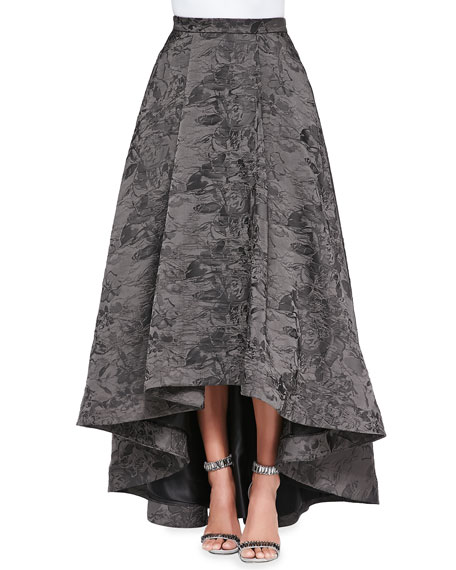 Cohe Shimmery Jacquard A-Line Skirt