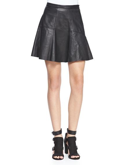 Ibiza Lambskin Skirt