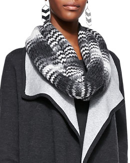 Eileen Fisher Fisher Project Chainette Infinity Scarf