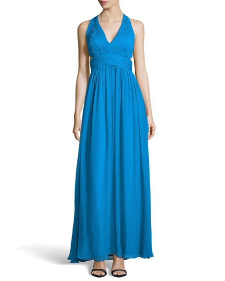 Aidan Mattox Halter Dress
