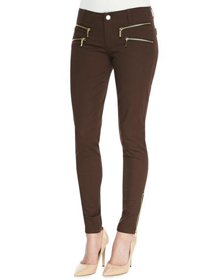 Rocker Zip-Pocket Skinny Pants