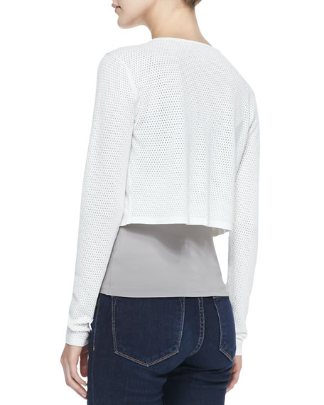 Eden Cropped Sweater Cardigan