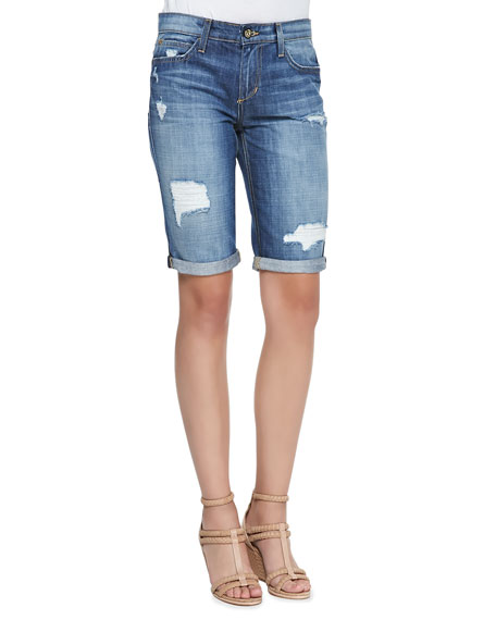 Joe's Jeans Easy Samara Denim Bermuda Shorts