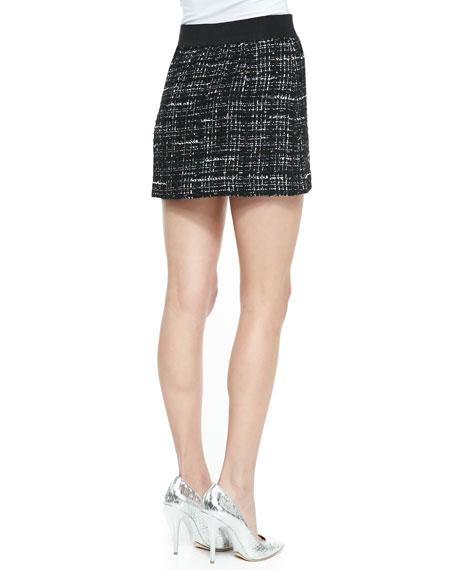 Italian Tweed Miniskirt