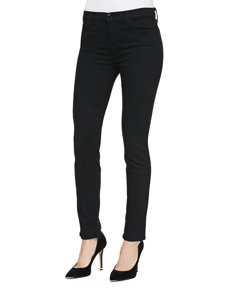 J Brand Jeans Mid-Rise Skinny Pants, Vanity