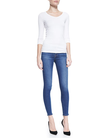 910 Pacifica Low-Rise Skinny Denim Jeans
