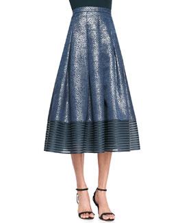 Sachin + Babi Combo Midi-Length Ball Skirt