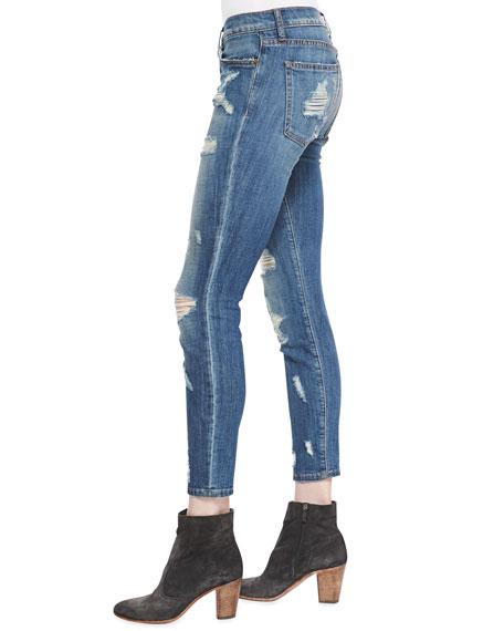 Stiletto Jodie Shredded Denim Jeans