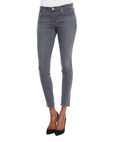 Ankle Skinny Jeans, 5-Year/Skyline