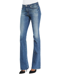 AG Adriano Goldschmied Angel Boot-Cut Denim Jeans, 10Y Boundless