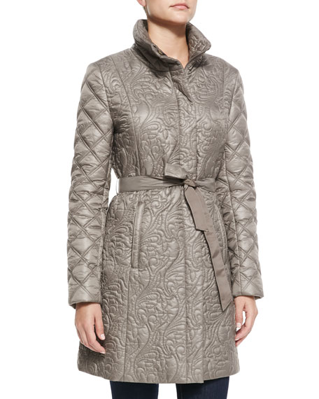 Milano Belted Puffer Jacket