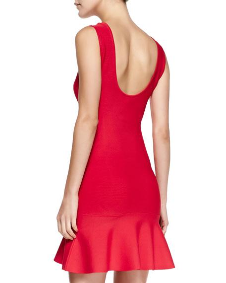 Padma Knit Fit & Flare Dress