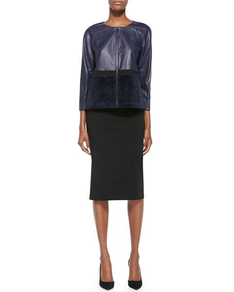Tea-Length Pencil Skirt