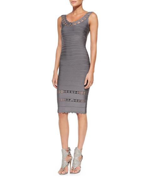 Lilykate Cutout-Trim Bandage Dress