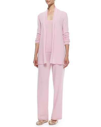 Neiman Marcus 3-Piece Cashmere Pants Set