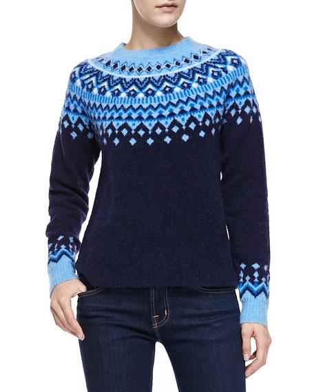 Joie Deedra Fair Isle Sweater