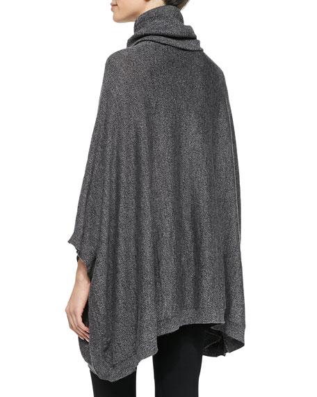 Jalea Turtleneck Poncho Sweater