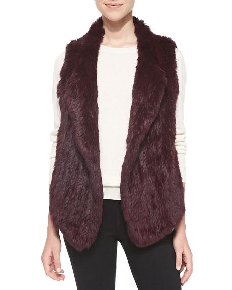 Andoni Open-Front Fur Vest
