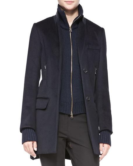 Uptown-Dickey Wool Car Coat