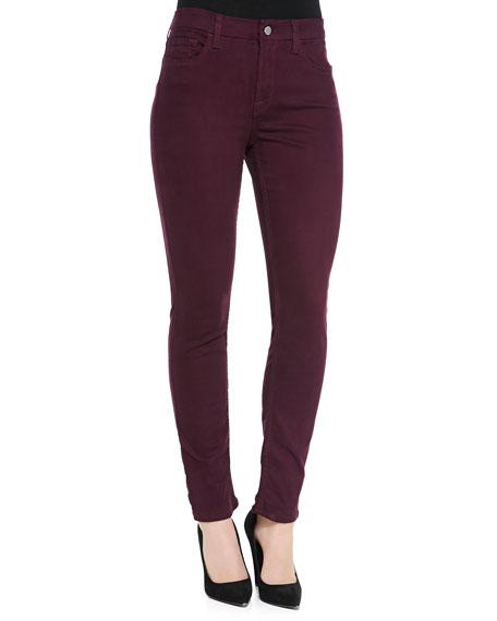 JEN7 Sateen-Twill Skinny Jeans