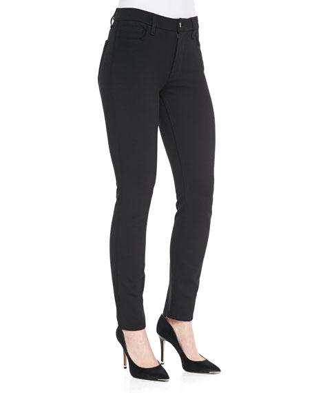 JEN7 Ponte Skinny Jeans, Black