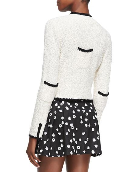Tromp L'Oeil Asymmetric Knit Jacket