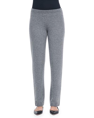 Belford Cashmere-Blend Easy Straight-Leg Pants