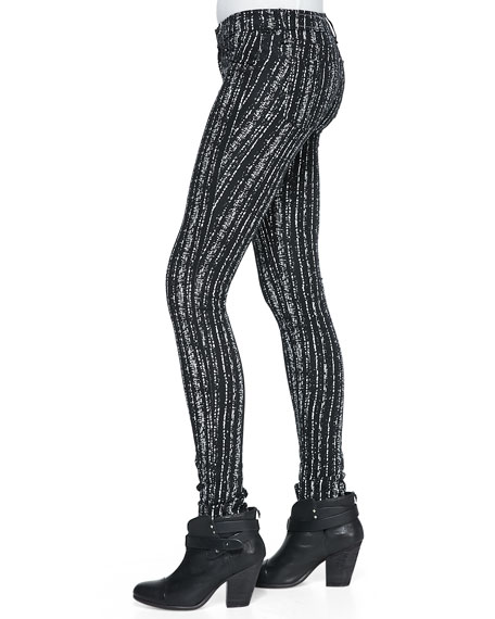 The Legging Barcode Printed Knit Pants