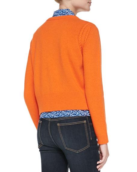 Ivy Knit Crewneck Sweater