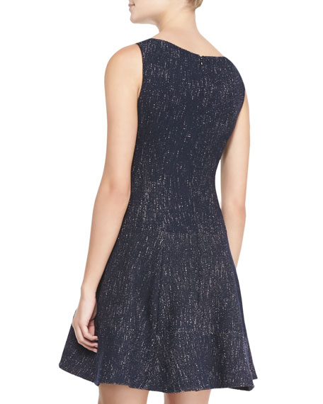 Scandal Clandestine Flared Tweed Dress