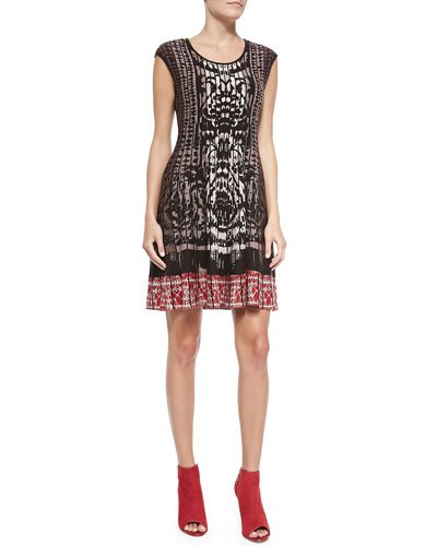 NIC+ZOE Rise & Set Twirl Dress