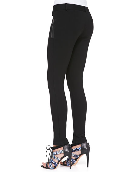Adams Skinny Pants with Zip Detail