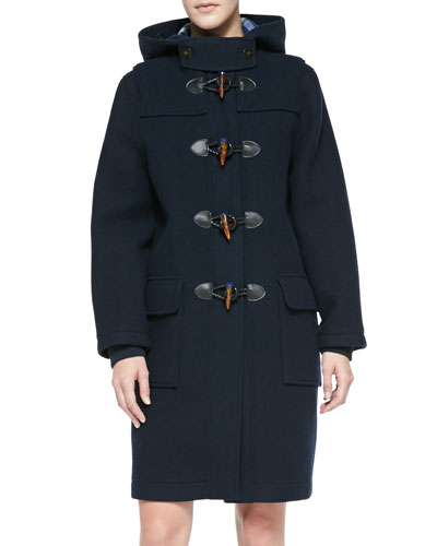MARC by Marc Jacobs Paddington Hooded Toggle-Front Coat