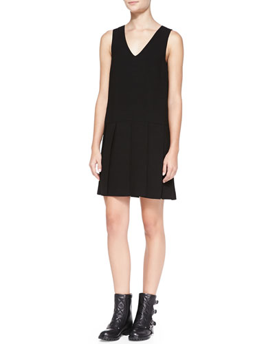 MARC by Marc Jacobs Yumi Drop-Skirt Crepe Dress