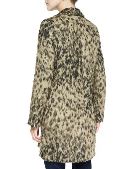 998f387f8eb2 Smythe Alpaca Leopard-Print Lab Coat