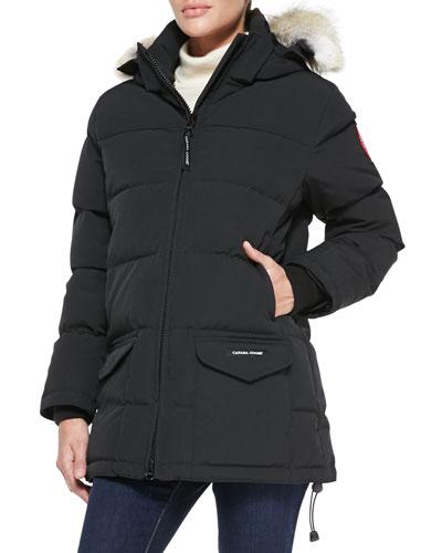 Solaris Fur-Hood Parka Coat