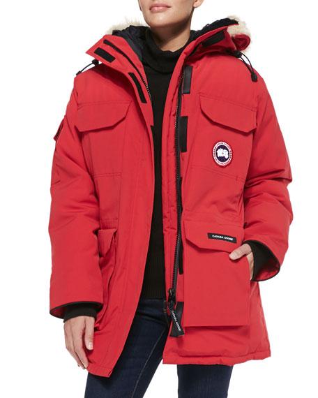 canada goose arctic parka red