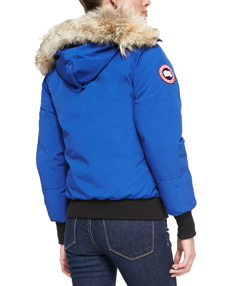 Canada Goose down replica discounts - Canada Goose Chilliwack Bomber Jacket with Fur Hood