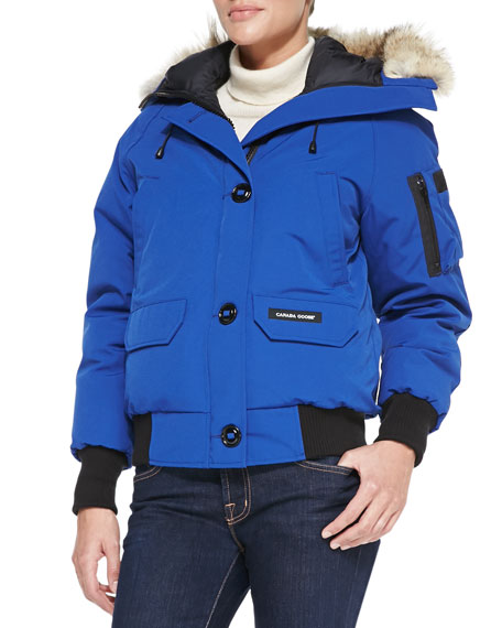 Canada Goose Chilliwack Bomber Jacket with Fur Hood
