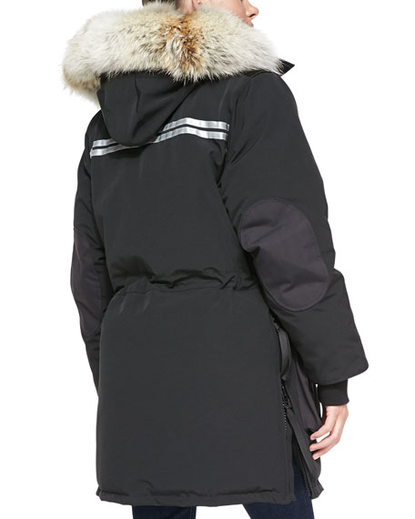 SNOW MANTRA FUR-HOOD COAT